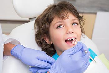 Острые травмы зубов у детей